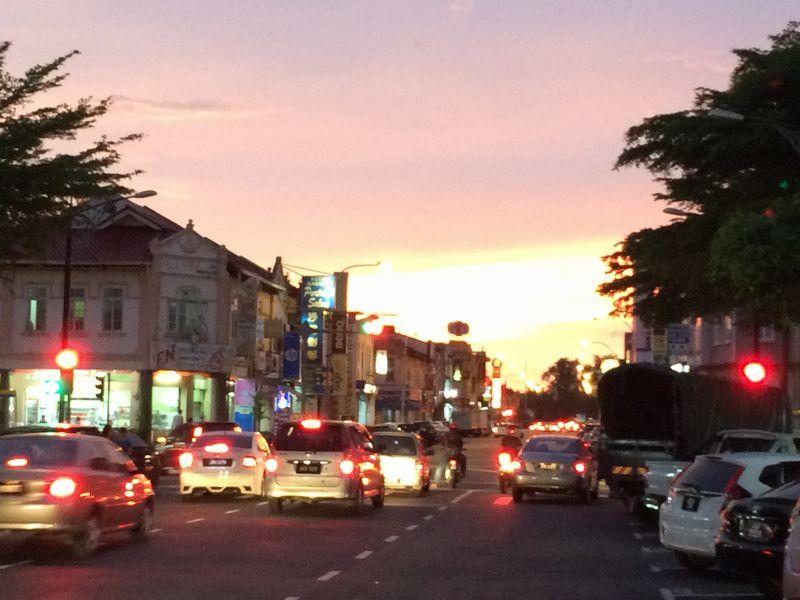 夕暮れのバトゥパハ