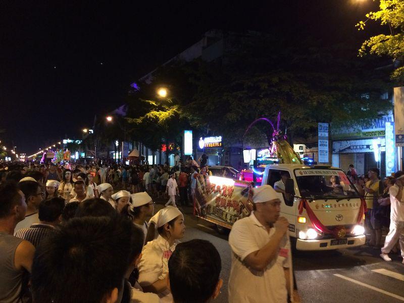 パレードの始まり