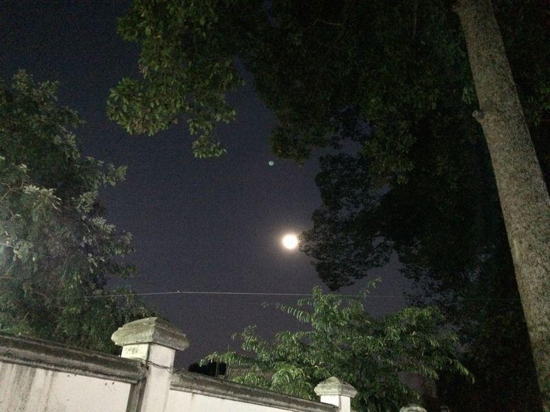 チェンマイの月