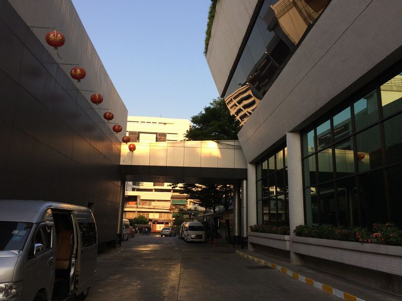A-Oneホテルの団体バス乗降場所