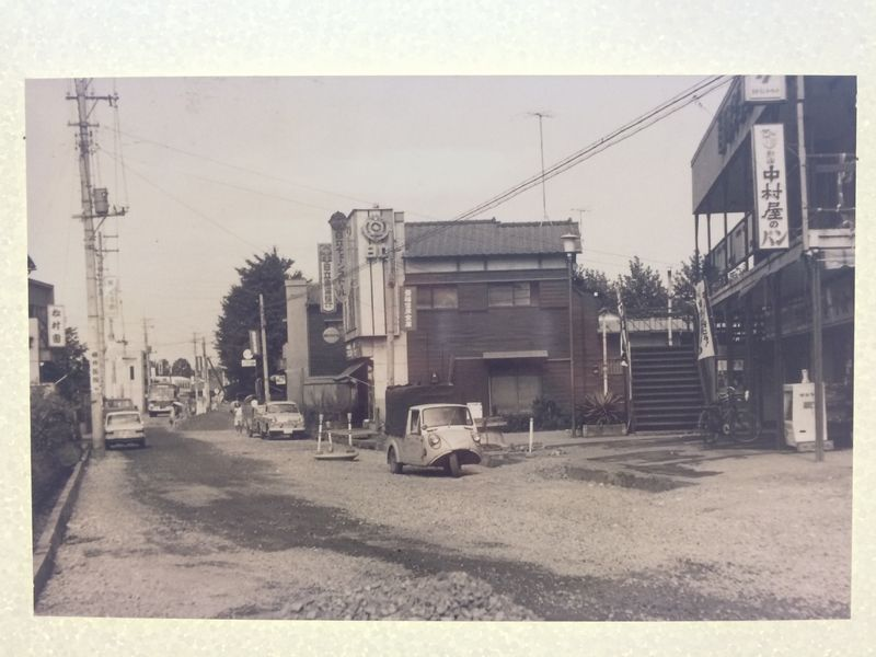 古い白黒写真