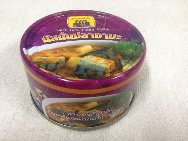 鯖のマサマンカレー缶