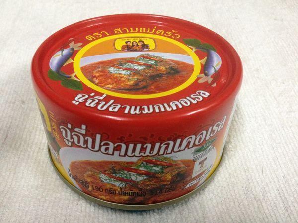 鯖のチューチー缶