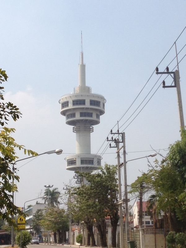 スパンブリのタワー
