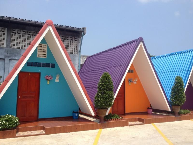 テント型の小屋