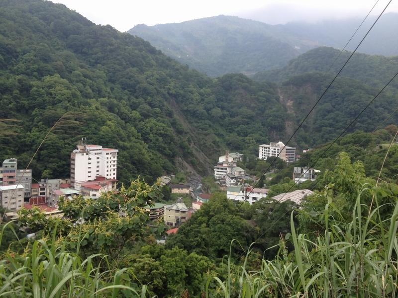 蘆山温泉全景