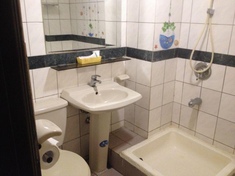 富凱大飯店の浴室
