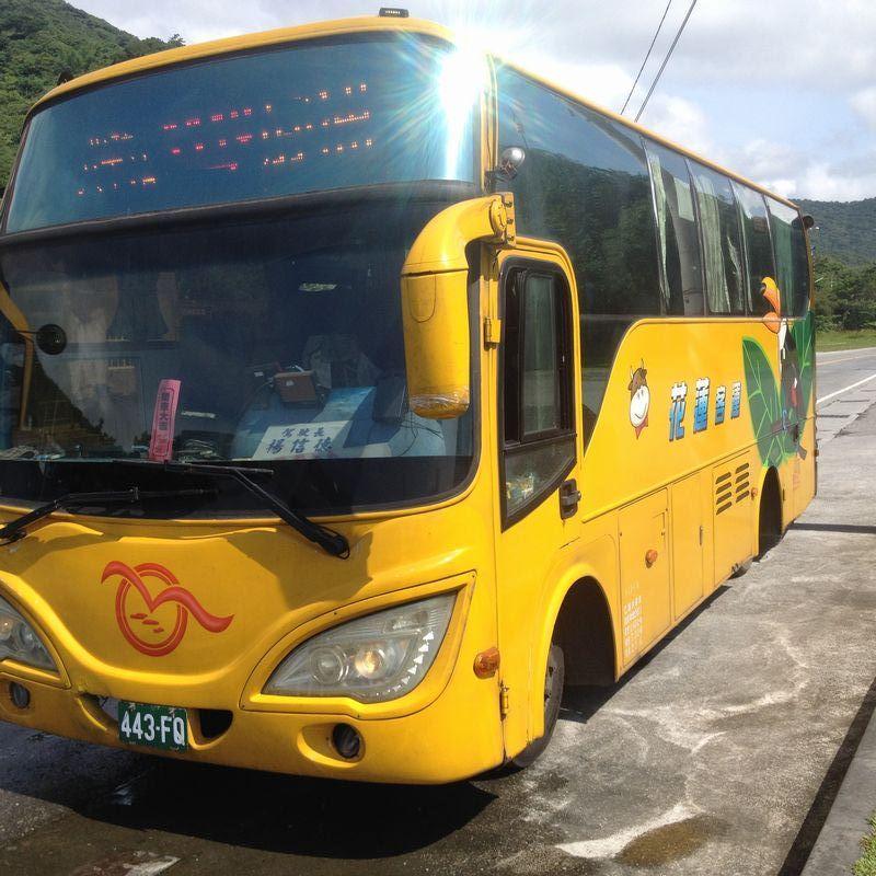花蓮客運の中型中国製バス