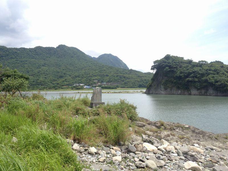 秀姑巒渓の河口