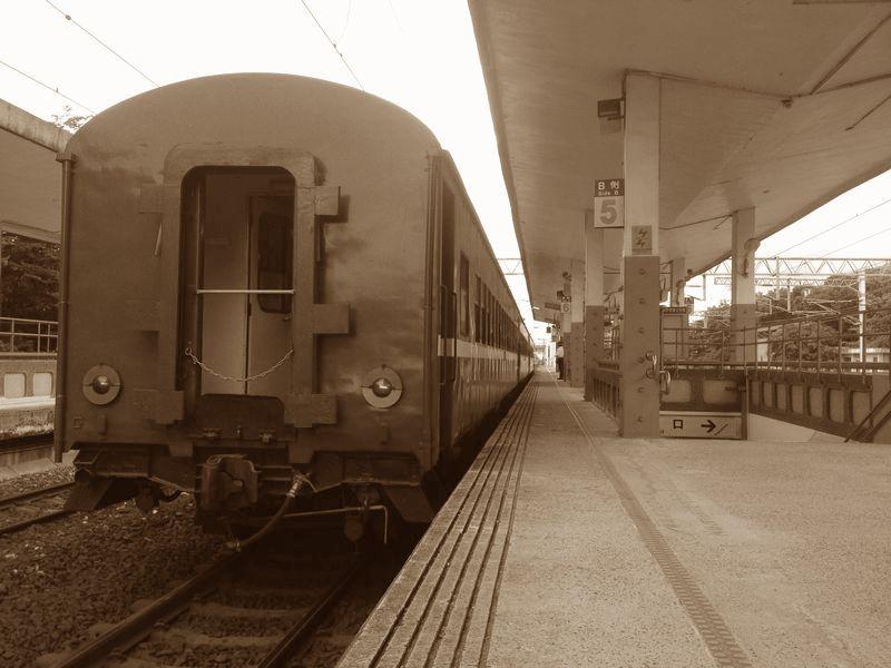 昭和の汽車とおんなじだ