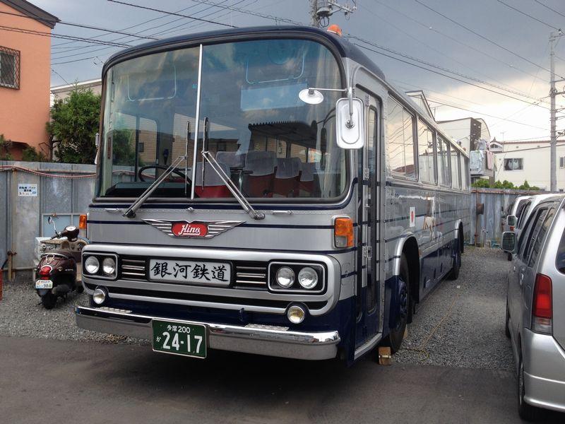 国際観光バス!