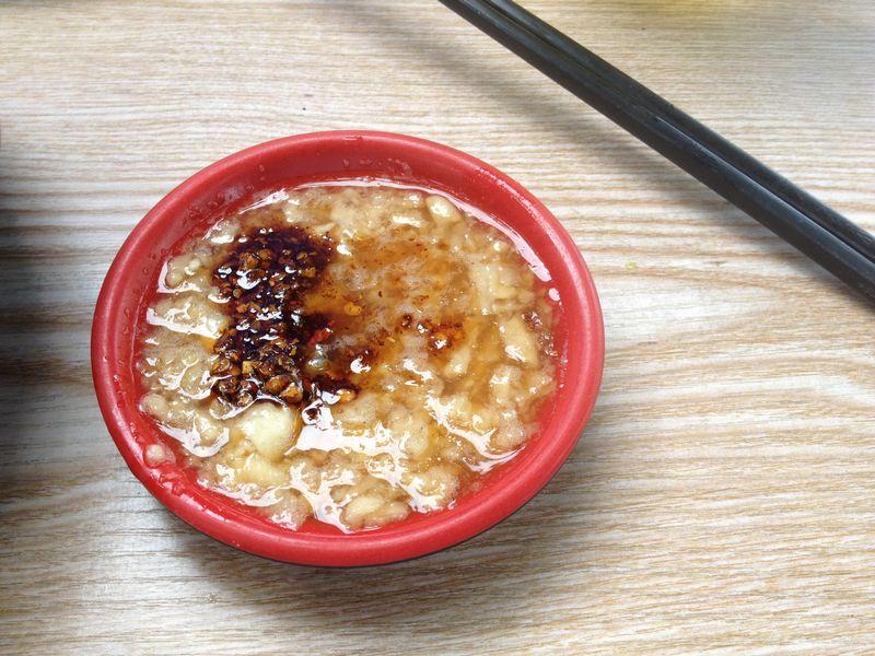 山東省の餃子のタレ