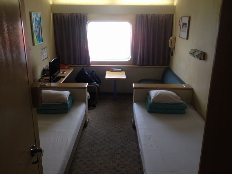 新金橋Ⅱ号 ロイヤル船室