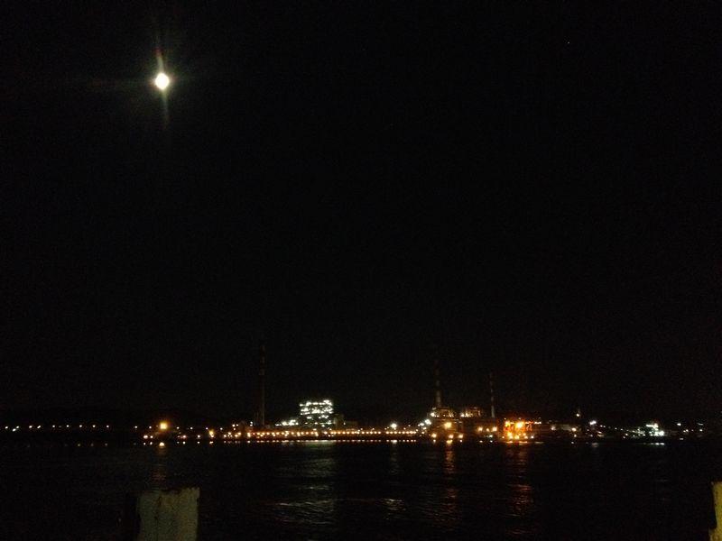 月夜の威海衛