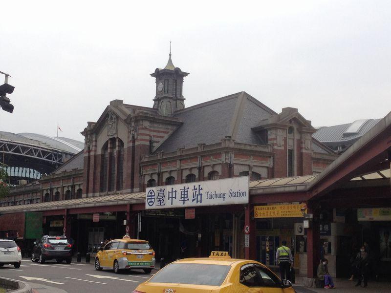 旧台中駅舎