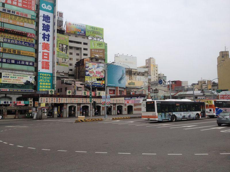 旧台中駅前ロータリー