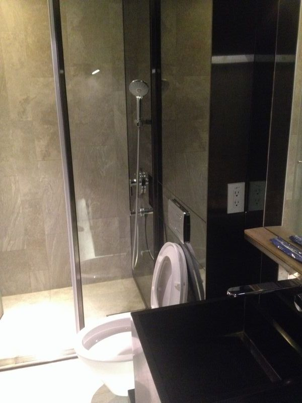 台北のシャワールーム