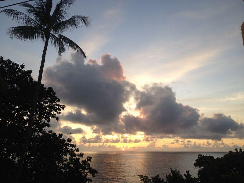 サムイ島の日の出