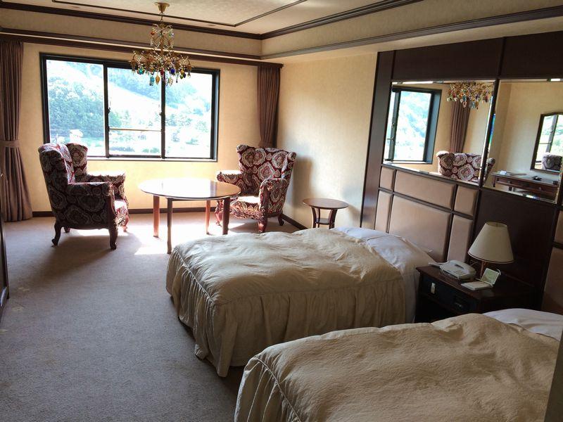 定山渓ビューホテル 本館洋室