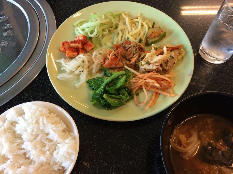 ミソネで韓国式朝ごはん