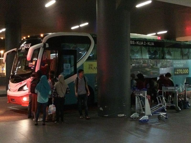 クアラルンプールの空港バス