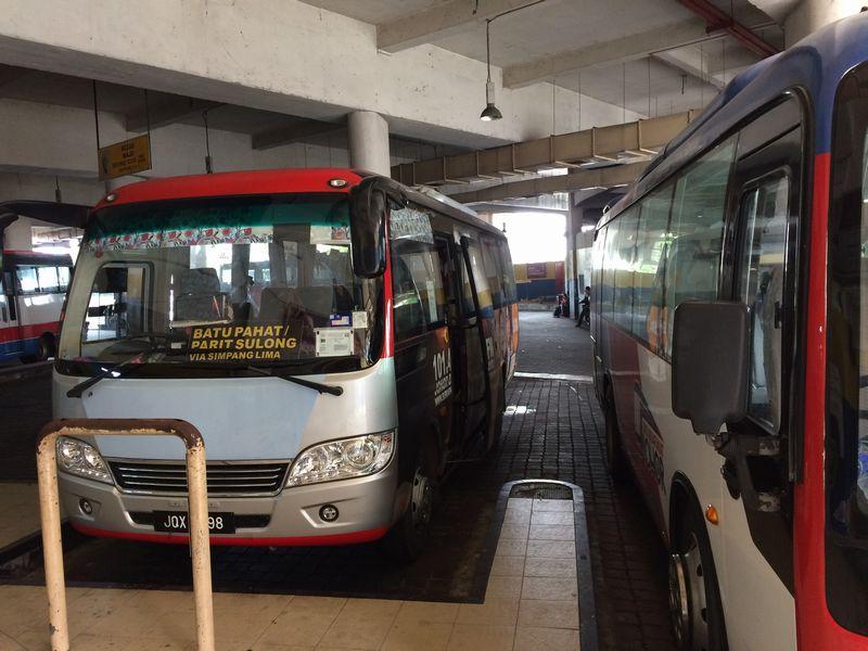 パリスロン行きのバス